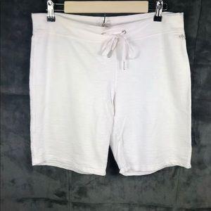 Calvin Klein CottonKnit DrawstringCasual Shorts Sm
